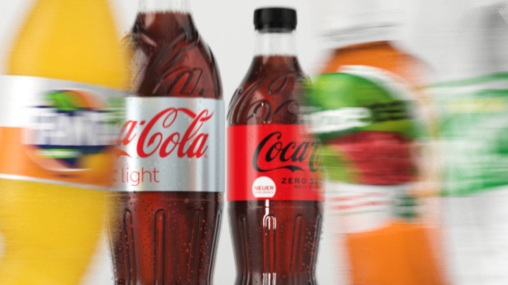Coke Zero – Packshot